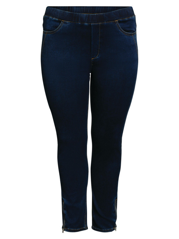 Jeans 7/8 rits onderaan Ciso