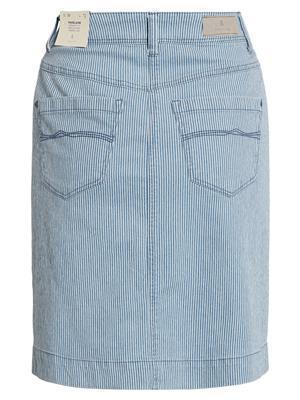 Rok BRANDTEX Jeans krijtstreepje